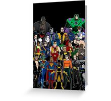 Injustice: A Farewell Greeting Card