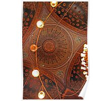 Mosque Ceiling - Cairo, Egypt Poster