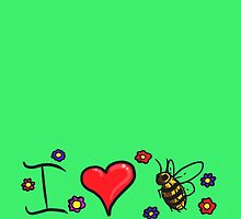 LOVE-I Love Bees by NeonOf1986