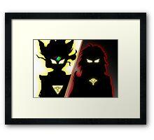Yu-Gi-Oh Dueling Power Framed Print