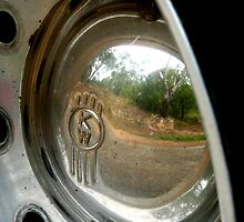 Big Rig Reflection by Janette Anderson