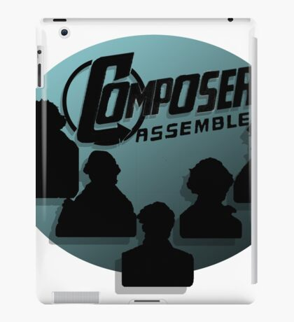 Composers Assemble iPad Case/Skin