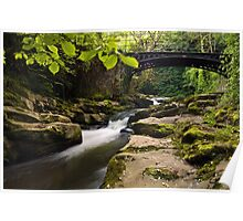 Clydach Gorge Poster