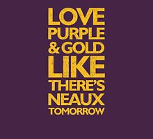 Purple & Gold Neaux Tomorrow Graphic Tee Unisex T-Shirt