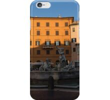 Rome's Fabulous Fountains - Fountain of Neptune, Piazza Navona, Rome, Italy iPhone Case/Skin