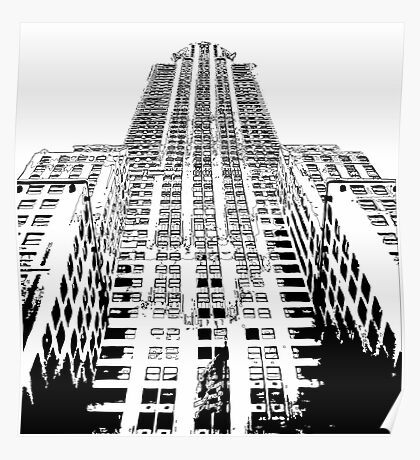 Chrysler Building, NY Poster