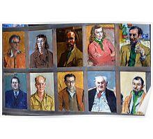 Portrait Artwork, Montsalvat Poster