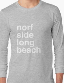 Norf Norf White Long Sleeve T-Shirt