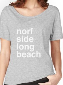 Norf Norf White Women's Relaxed Fit T-Shirt