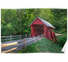 Campbells' Covered Bridge Poster