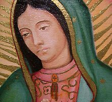 Our Lady of Guadalupe (Detail) by Jorge H. Elias