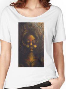 Fille (Girl) Women's Relaxed Fit T-Shirt