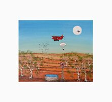 Snoopy and the Red Baron; Original Acrylic Painting Australia;Recent Achievements! This painting has been Published in the Australian Artist's Palette Magazine 21/Jan/2010  Unisex T-Shirt