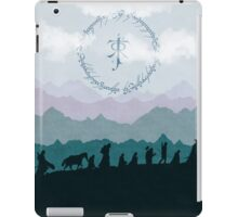 The Fellowship - Misty Mountains iPad Case/Skin