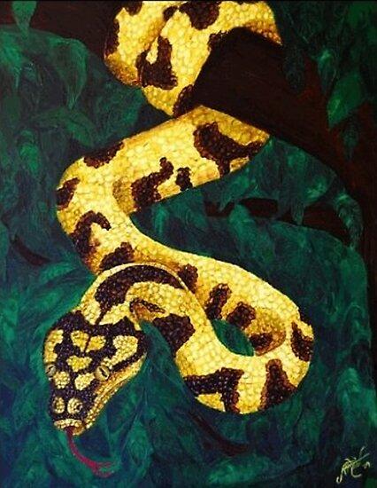 Saffron Entanglement by Anna Maria Williams