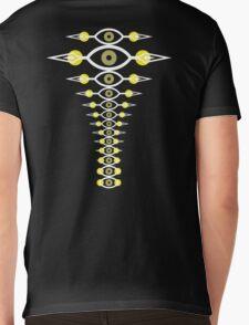 Spinal Vision Mens V-Neck T-Shirt