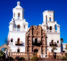 Mission San Xavier del Bac by WiredMarys