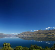 Relection - Lake Wanaka by Trevor Hadley