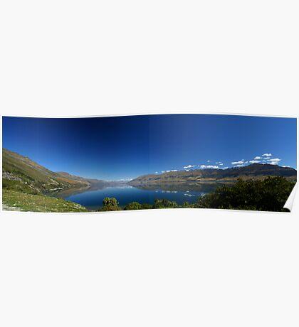 Relection - Lake Wanaka Poster