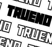 TRUENO Sticker