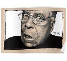 Portrait of James Earl Jones Poster