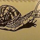 Snail by WoolleyWorld