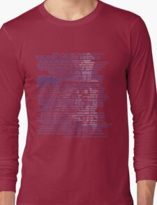 I am your host, your Ghost Host. Long Sleeve T-Shirt