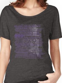 I am your host, your Ghost Host. Women's Relaxed Fit T-Shirt