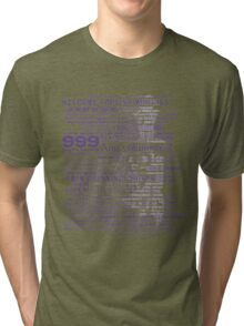 I am your host, your Ghost Host. Tri-blend T-Shirt
