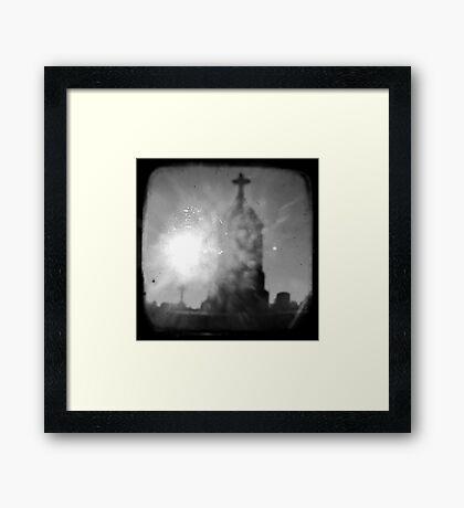 Guiding Light - TTV Framed Print