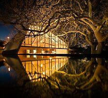 My Place of Work! - Peppermint Bay, Woodbridge, Tasmania by Liam Byrne