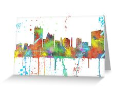 Toledo, Ohio Skyline Greeting Card