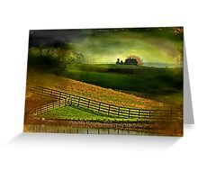 """Within the Land of Dreams..."" Greeting Card"
