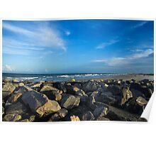 Altantic ocean (Florida) Poster