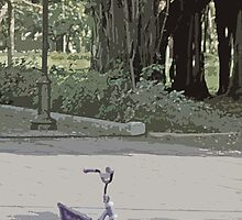 Tricycle in the park by Turtle6