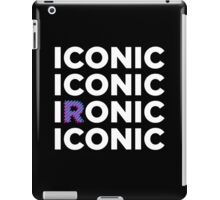 ICONIC IRONIC iPad Case/Skin