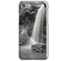 Girrakool Waterfall In Black & White iPhone Case/Skin