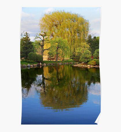 Japanese garden Bloomington MN Poster