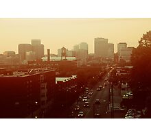 The City Lights-View from Richmond, Va Photographic Print