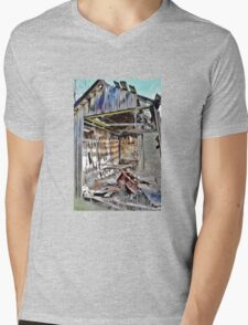 Deluxe Accommodations Mens V-Neck T-Shirt