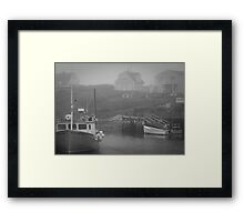 Harbour Mist Framed Print