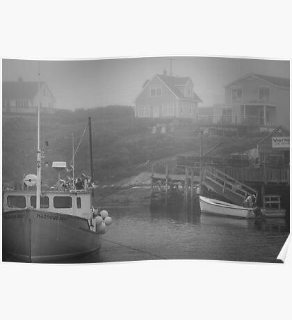 Harbour Mist Poster