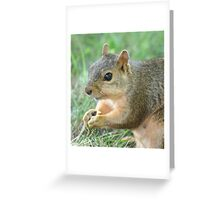 I Just Have to Tell You That There is More to Me than Just a Rat in Better Clothing! Greeting Card