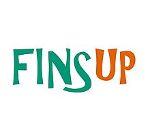 FinsUp! Photographic Print