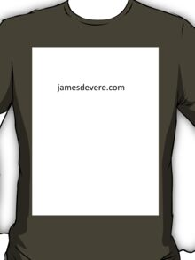 Get the JamesDeVere look! T-Shirt