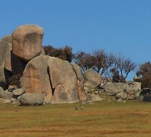The Rocks, Tooborac, Victoria Australia by Margaret Morgan (Watkins)