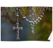 Nana Elsie's rosary beads Poster