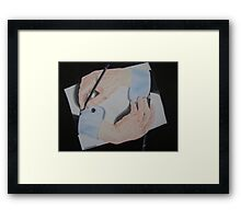 I'm confused.. Framed Print
