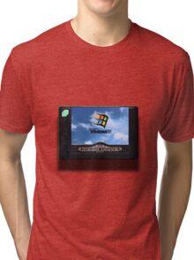 16-bit vaporwave Tri-blend T-Shirt
