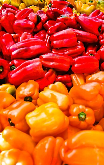 Bell Peppers anyone? by Nancy Stafford